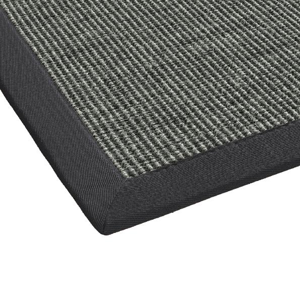 mara teppiche dekowe bord renteppich anthrazit 009 sisal teppich. Black Bedroom Furniture Sets. Home Design Ideas